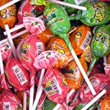 Bon Bon Boom Intense Sour Bubble Gum Pops - 48 Ct. Case