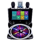 Karaoke USA Complete All-In-One Wi-Fi Multimedia Karaoke Machine With 9