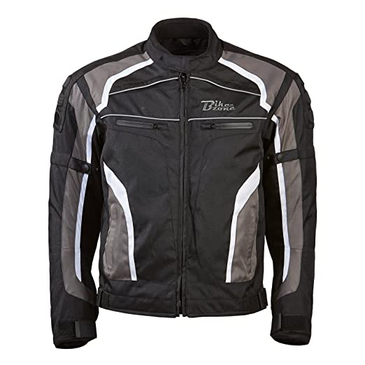 BIKEZONE s 4001-54-xL veste de moto connect-multicolore-taille xL