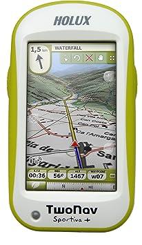 TwoNav Sportiva+ Kit pour GPS Carte du Royaume-Uni Vert/blanc
