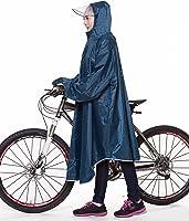 QIAN 自行车摩托车雨衣长款披肩男女通用男款女款通勤均码完全防水高品质