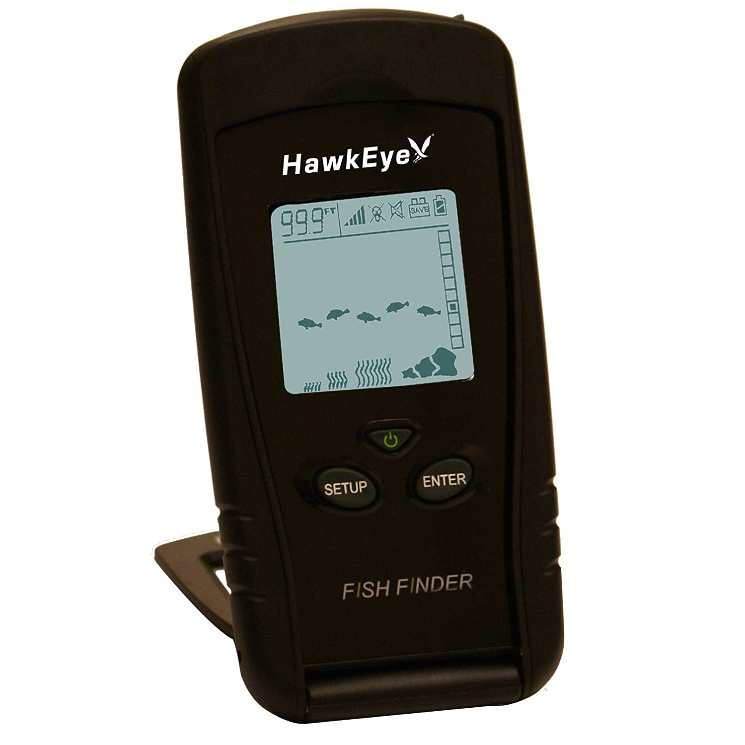 best norcross hawkeye fish finder