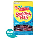 240 Count Bulk SWEDISH FISH Soft and Chewy Candy, Individually Wrapped Packs (Color: Yellow, Tamaño: 1 Pack)