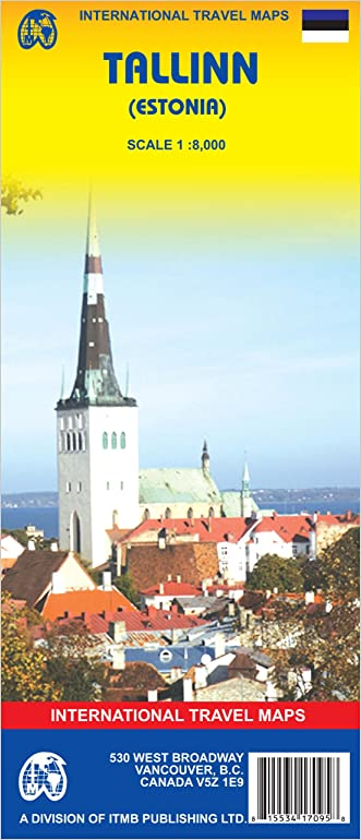 Tallinn (Estonia) 1:8,000 Street Map 2006***
