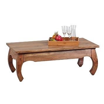 Wohnling wl1,447 Opium-Tavolino da caffè in legno di Acacia, 60 x 110 cm
