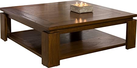 Nomades Design  500965 Table basse sous plateau Bois/Contreplaqué 90 x 90 x 32 cm