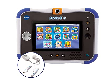 Vtech - 158815 - Jeu Électronique - Tablette tactile Storio 3S Wifi bleue + Power Pack