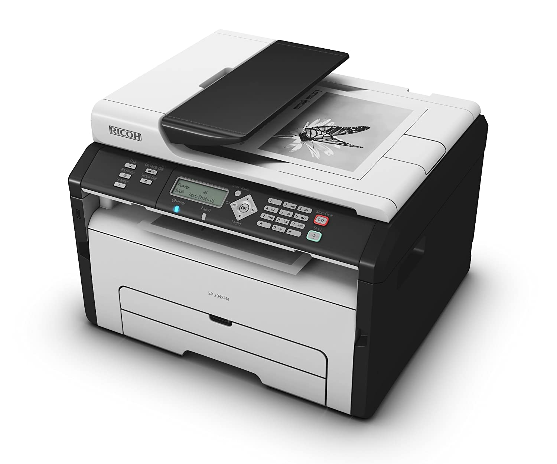 ricoh printer scan to pdf