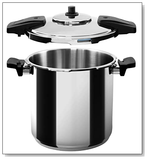 MIU France Stainless Steel Professional 8-Qt. Pressure Cooker Review