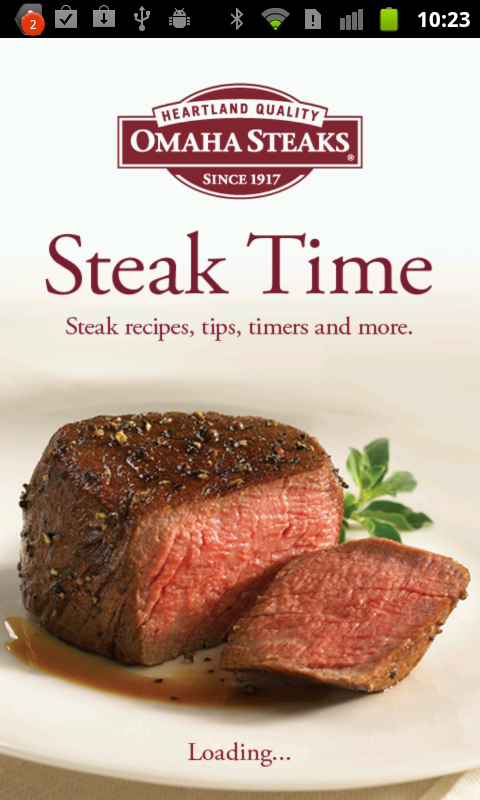 Amazon Com Omaha Steaks Steak Time Appstore For Android