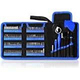 Kaisi 126 in 1 Precision Screwdriver Set with 111 Bits Magnetic Driver Kit Professional Electronics Repair Tool Kit for Repair Cell Phone, iPhone, iPad, MacBook, PC, Tablet, Laptop, Xbox, Game Console (Tamaño: Large)