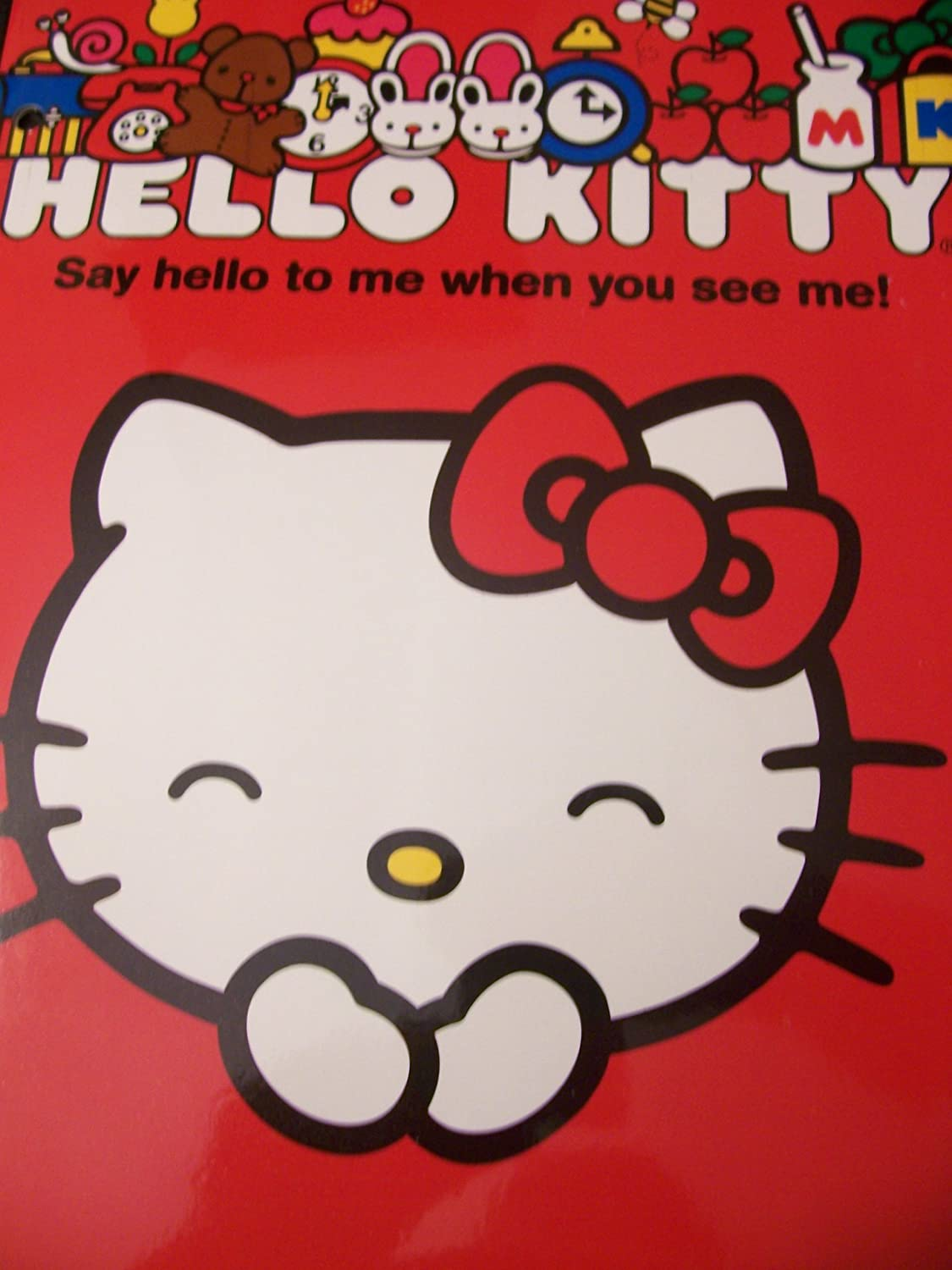 Kitty Folders Hello Kitty Folder by Mead