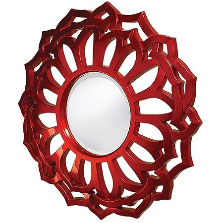 Howard Elliott 2196 Casey Mirror, Metallic Red