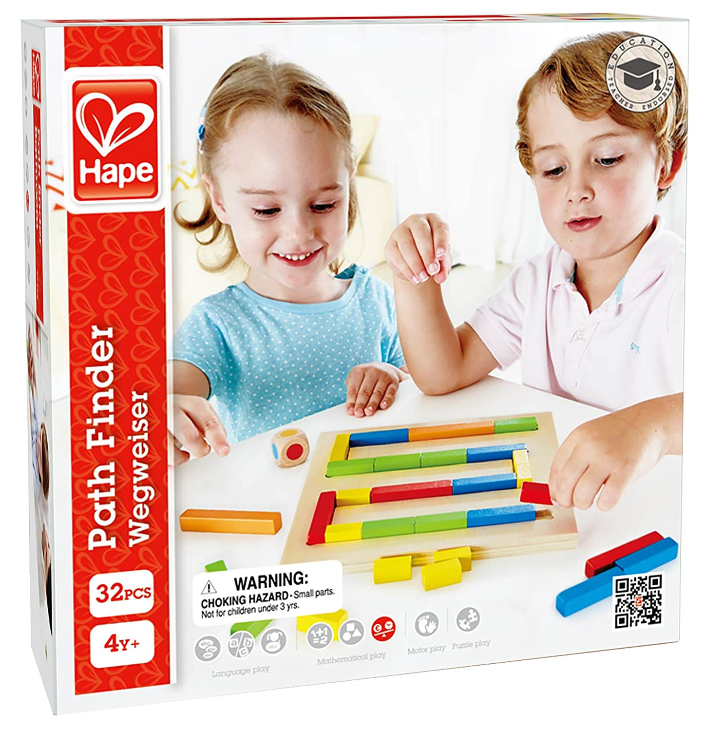 Hape - Home Education - Path Finder Game