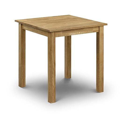 Julian Bowen COX003 Coxmoor - Mesa de comedor de madera de roble (90 x 50 x 45 cm)