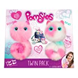 Pomsies are Lovable, Fashionable, Interactive Pom Pom Pets ( Twin Pack )( Includes 2 AAA 1.5V Batteries, 2 Sets of Pomsies, 1 Brush, Instruction Manual)