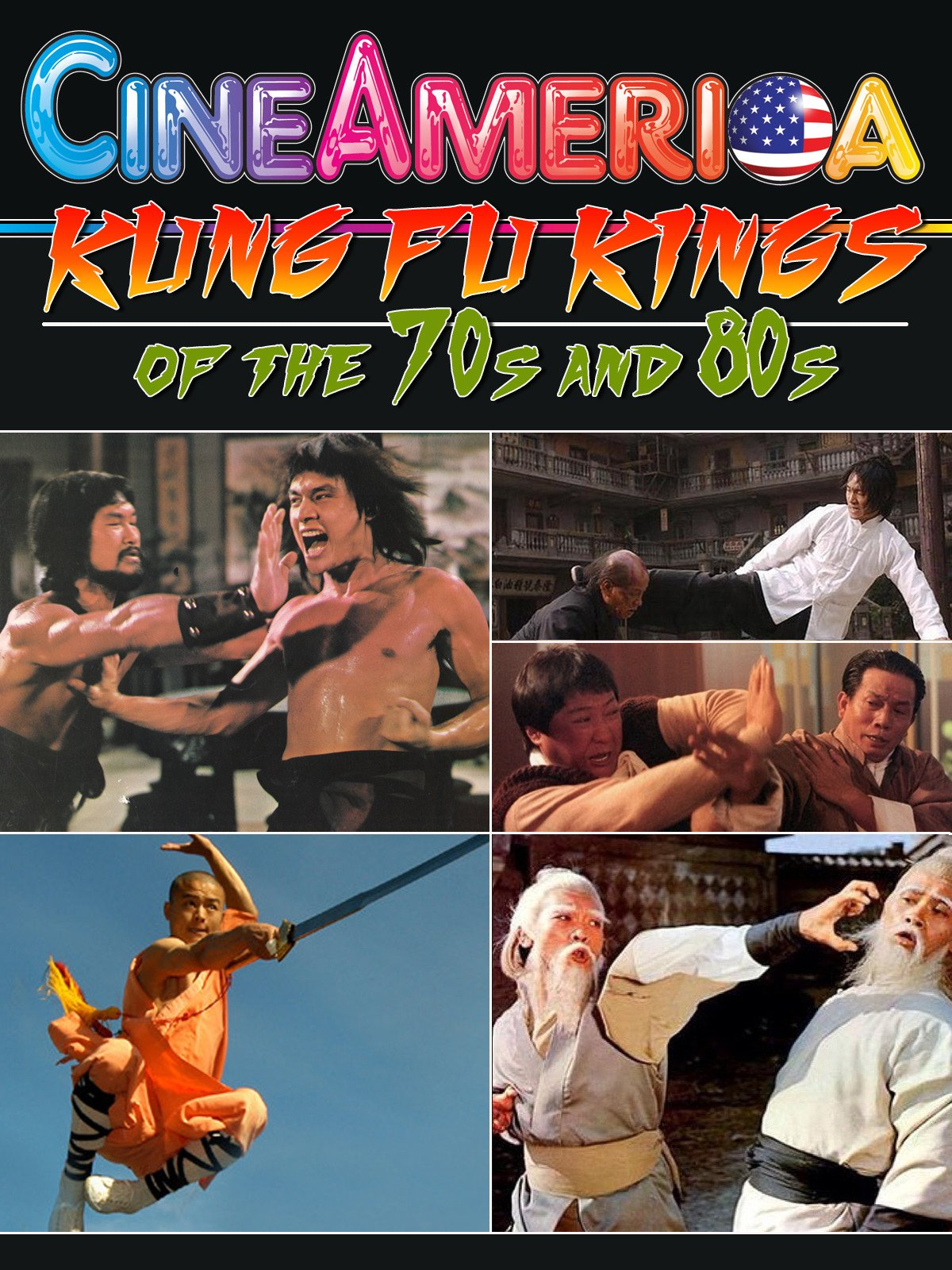 Kung Fu Kings of the 70s and 80s
