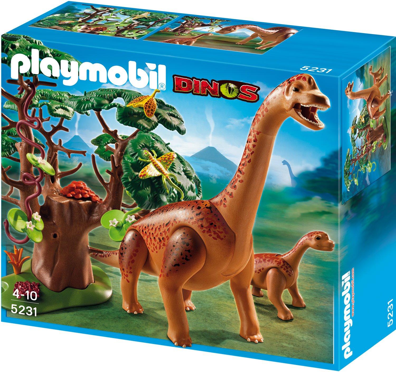 Playmobil brachiosaurus mit baby 5231 preisvergleich - Dinosaur playmobile ...