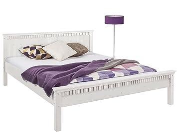Einzelbett, Doppelbett, Bett VENEDIG aus Kiefer massiv (24, 16)