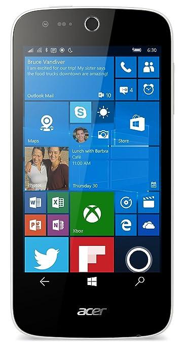 Acer M330 Smartphone débloqué 4G (Ecran : 4,5 pouces - 8 Go - Double SIM) Blanc