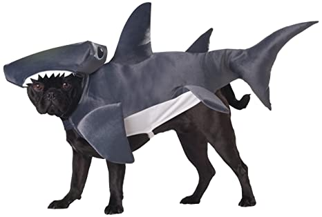 Large Dog Shark Costume Shark Dog Costume Large