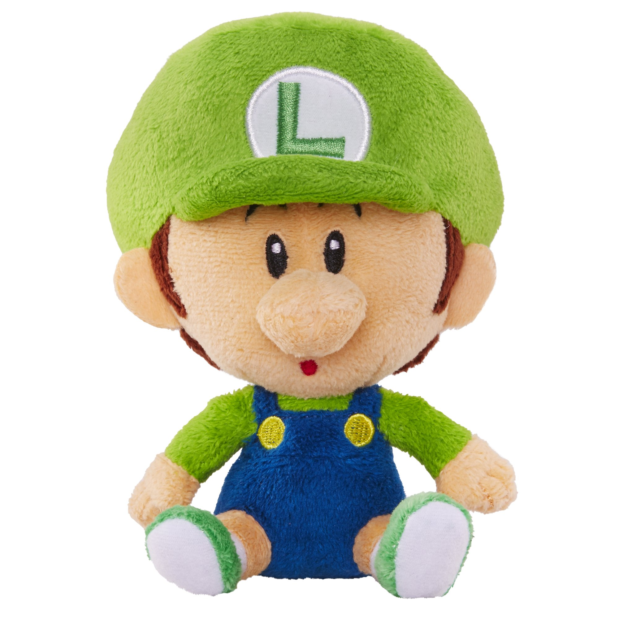 World of Nintendo Mario Bros U Baby Luigi Plush | eBay