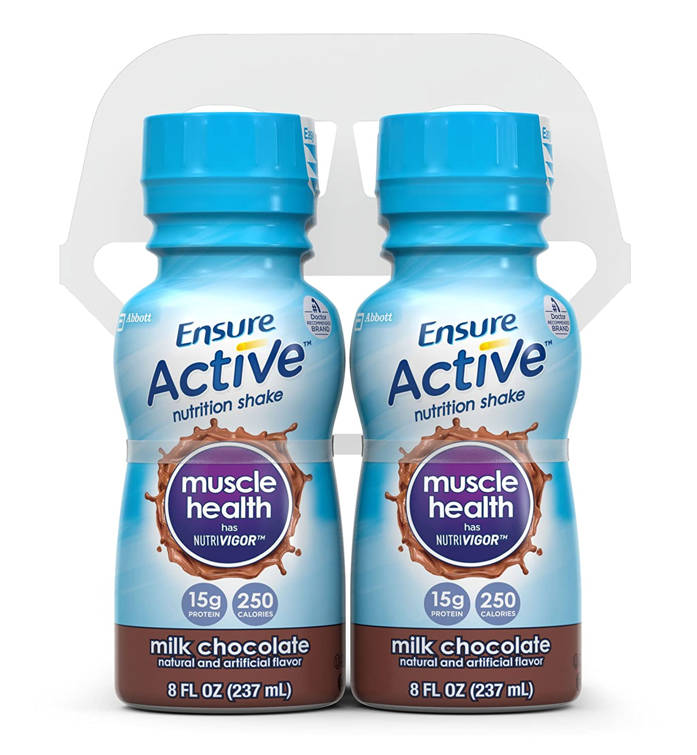 Ensure Active Muscle Health Shake, Milk Chocolate, 8-Ounce, (Pack of 16)