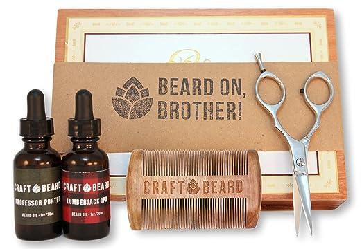 Craft Beer Beard Grooming Kit
