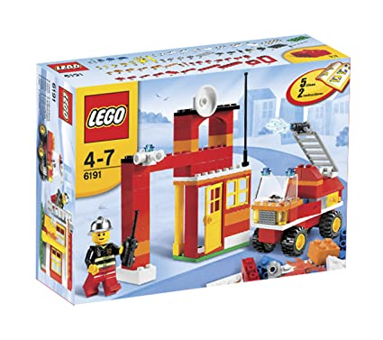 LEGO - 6191 - Jeu de construction - Creative Building System - Set de construction LEGO Pompiers