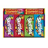 SKITTLES & STARBURST Full Size Candy Variety Mix 30-Count Box (Color: Original Version, Tamaño: 30 Count (Pack of 1))