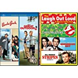 Stripes Bill Murray + Uncle Buck John Candy / Great Outdoors Comedy Feature Groundhog Day / Ghostbusters triple films