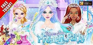 Princess Salon: Frozen Party by LiBii