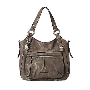 Damen Leder Schulter Tasche Handtasche von Lorenz Schwarz//Braun//Beige //
