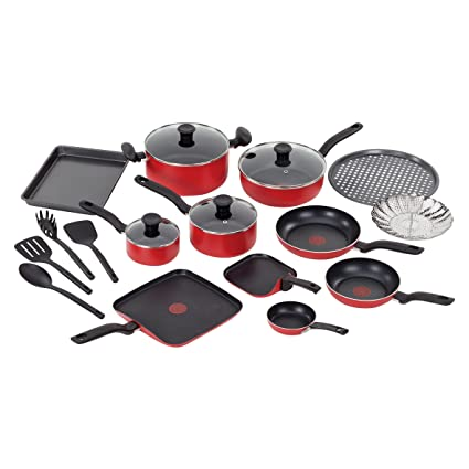 T-fal Simply A777SKFT 20 Piece Cook Set