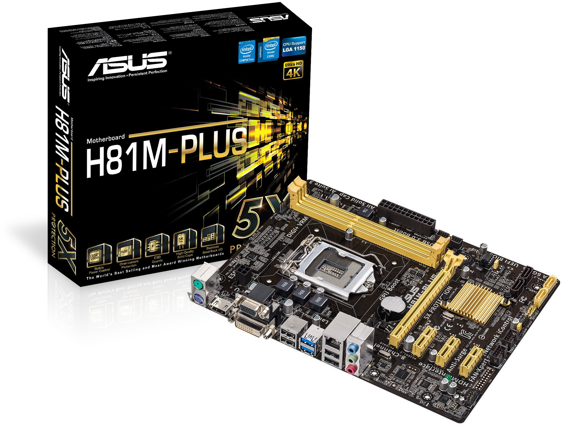 Asus H81M PLUS