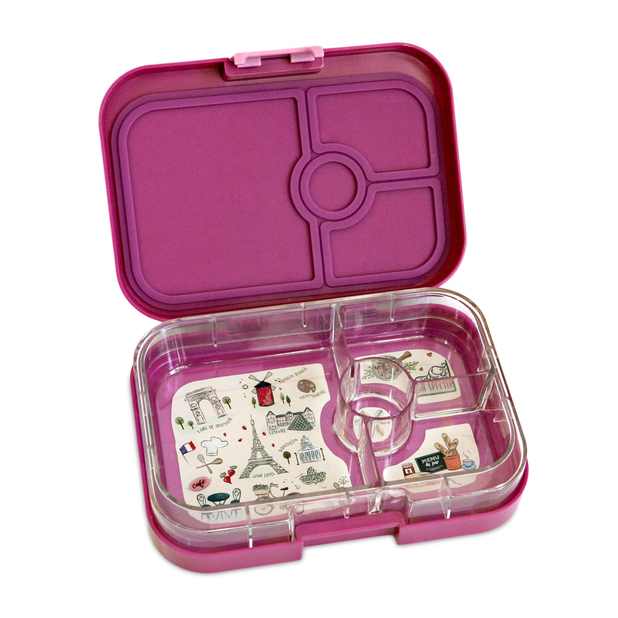 galleon yumbox leakproof bento lunch box container bijoux purple for kids and adults. Black Bedroom Furniture Sets. Home Design Ideas