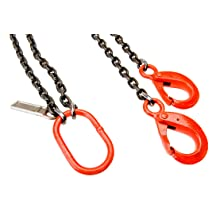 Mazzella DOL Welded Alloy Chain Sling, Fixed-Leg, Grade 100, Load Capacity at 60°