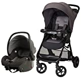 Safety 1st Smooth Ride Travel System with OnBoard 35 LT Infant Car Seat, Monument 2 (Color: Monument 2)