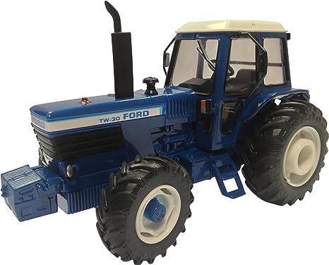 Britains - Bri42841 - Véhicule Miniature - Modèle À L'échelle - Tracteur Ford Tw30 4rm - Echelle 1/32