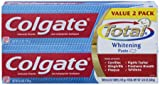 Colgate Total Whitening Toothpaste Twin Pack, Net. WT. 12-Ounce