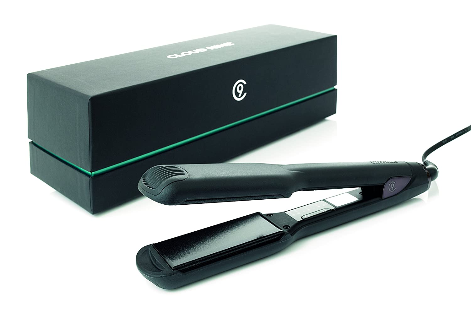 Cloud Nine Wide Plate Black Hair Straightener