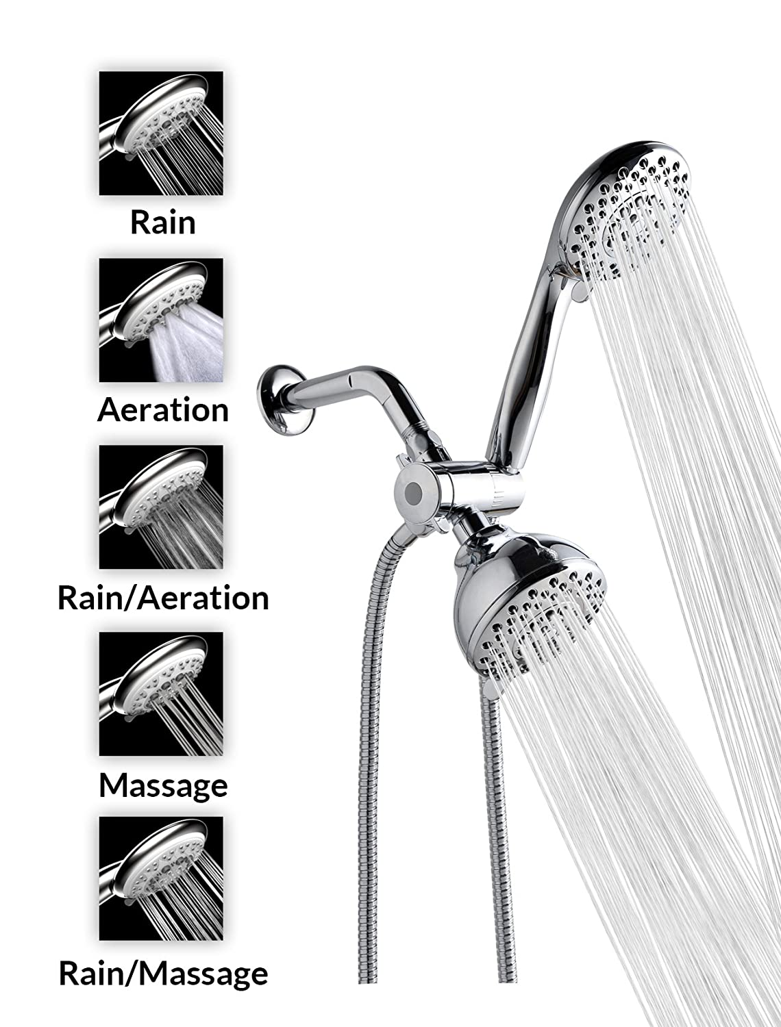 Top 10 Best Handheld Shower Heads - List and Reviews 2016-2017 on ...