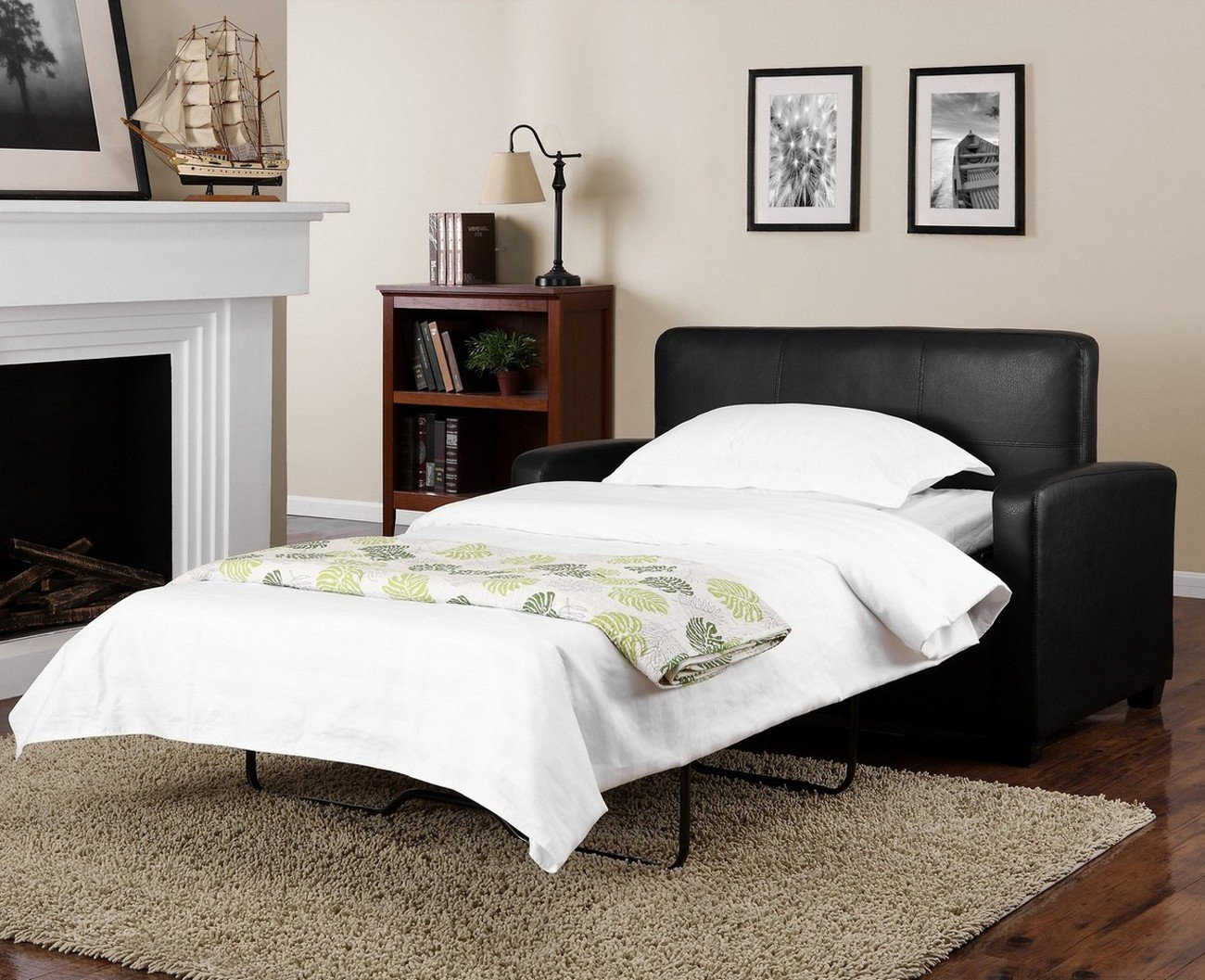 Mainstays Sofa Sleeper - Black