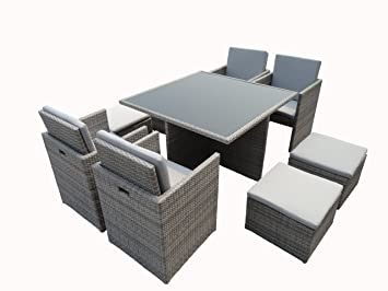 ensemble repas kube jardin z107. Black Bedroom Furniture Sets. Home Design Ideas
