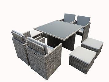 ensemble repas kube jardin z107. Black Bedroom Furniture Sets. Home Design Ideas
