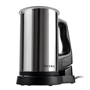 Secura Magnetic Motor Automatic Electric Milk Frother width=