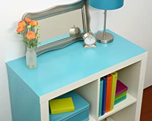Con-Tact Brand Covering-Teal-18x9 Adhesive Creative Drawer and Shelf Liner, 18''x9', Teal (Color: Teal, Tamaño: 18''x9')