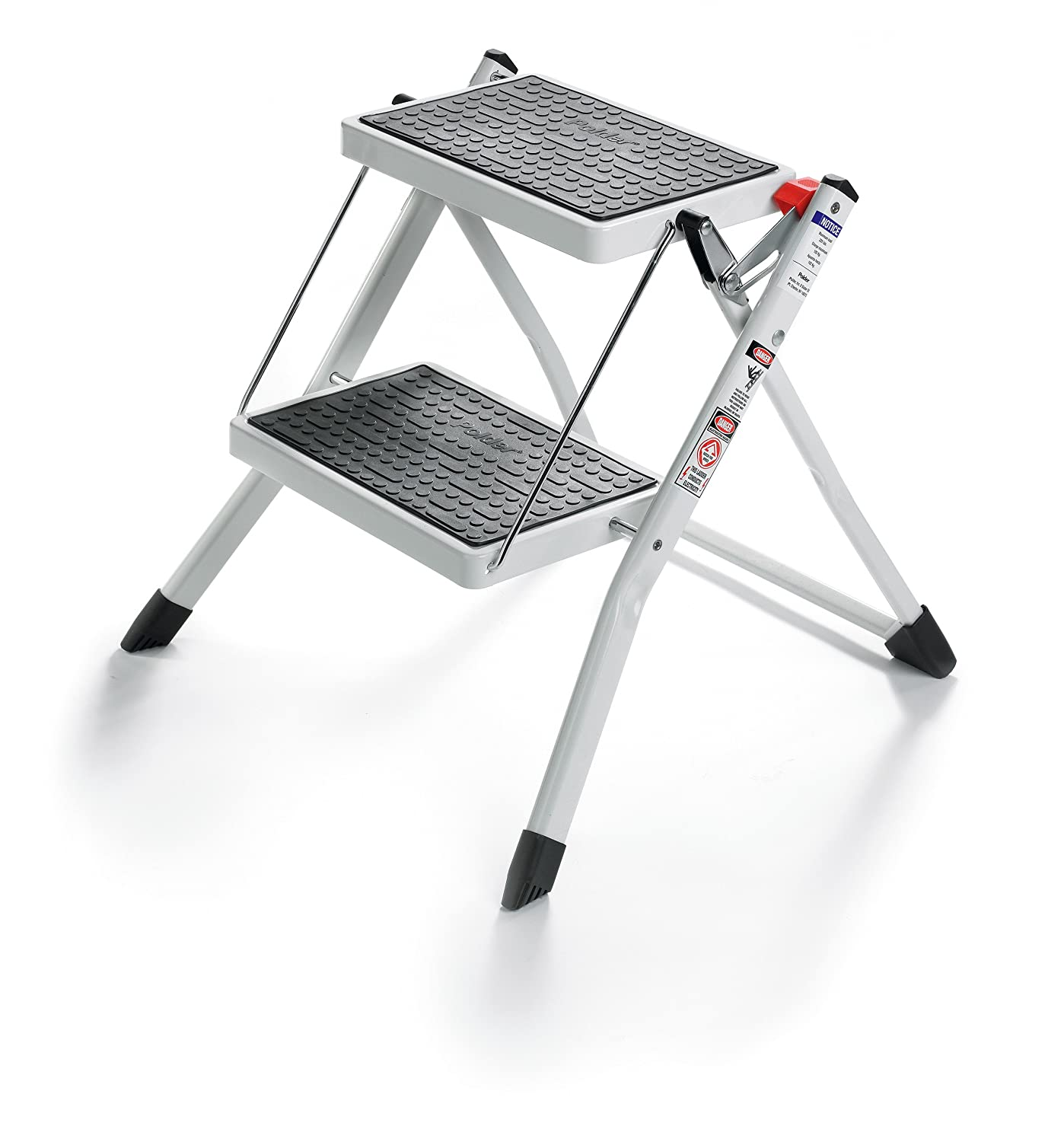 2 Step Ladder Lightweight Folding Stool Heavy Duty