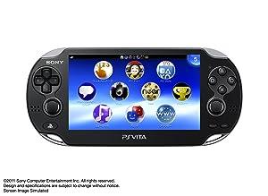PlayStation Vita 3G/Wi-Fiモデル クリスタル・ブラック