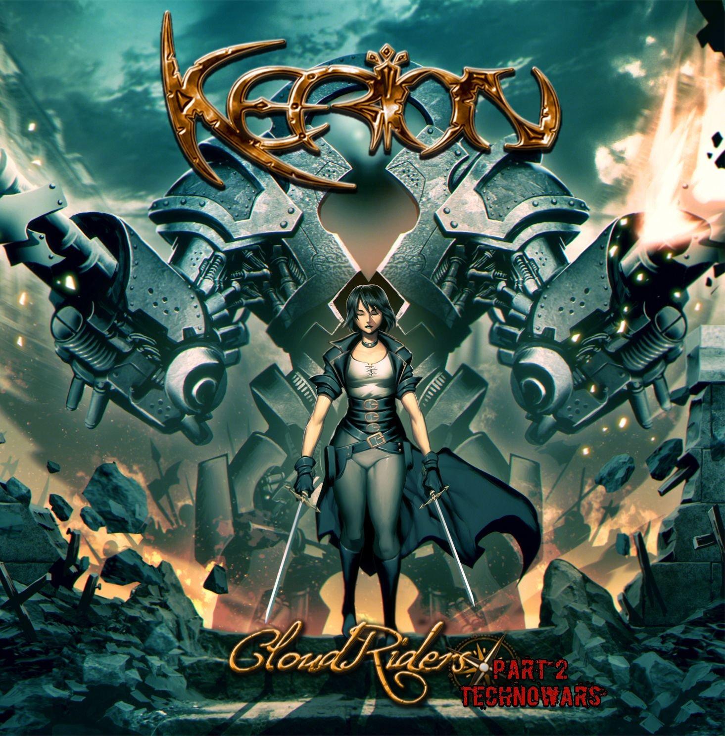 "KERION ""Cloud Riders, Pt. 2: Technowars"" (OCT 2015) 81kWVYQDS4L._SL1488_"